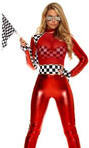 v halloween costume racer costumes forplay