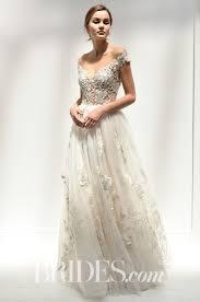 Off The Shoulder Wedding Dresses Wedding Dresses With 3d Flower Details Brides