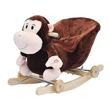 Toddler Rocking Chairs Homocm Toddler Rocking Chair Rocking Monkey With Removable Wheels