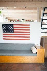 American Flag Decor Modern Americana Themed Interior Design Décor Aid