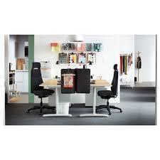 Ikea Stand Desk Bekant Desk Sit Stand Black Brown Black Ikea