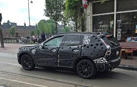 2018 volvo xc60 spied for the first time in amsterdam autoevolution
