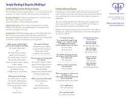 etiquette for wedding invitation wording vertabox com