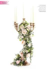 wedding flowers magazine gold candelabra wedding centrepieces featured in wedding flowers