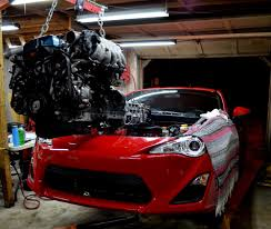 supra engine scion fr s with 2jz supra motor 08
