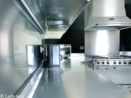 cuisine industrielle inox cuisine professionnelle inox credence inox cuisine professionnelle