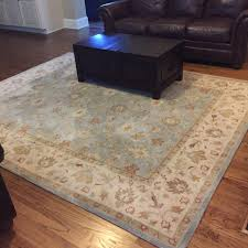 best pottery barn malika persian style rug 8x10 with rug pad for