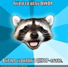 Qwop Meme - lame pun coon qwop memebase funny memes
