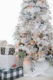 home for christmas u2013 black and white christmas tree