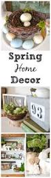 Home Decoration Pieces Spring Home Decor Adding Spring To The New Hutch My Creative Days