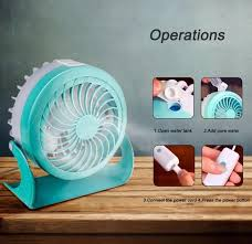 Desk Fan Small Shop 4 Modes Usb Fan Small And Lovely Cooling Mini