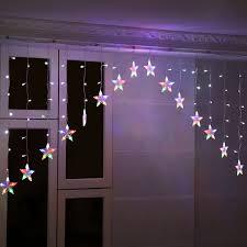 Wohnzimmer Bar Ebay 3m 136led Eisregen Sterne Lichterkette Lichtervorhang Hochzeit