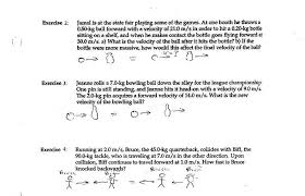 conservation of momentum worksheet answers free worksheets library