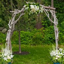 wedding arches to rent driftwood arbor for rent