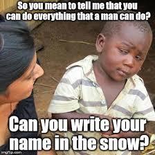 Shewee Meme - trump bill signing meme imgflip