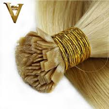 pre bonded hair extensions reviews pre bonded flat tip hair extensions 1 gram strand remy human