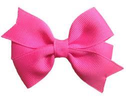 pink hair bow 3 inch hot pink hair bow hot pink bow pink hair bow