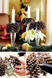 pine cone table decorations festive diy pine cone crafts for your decoration for