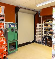 Roll Up Doors Interior Aesthetic And Functional Roll Up Doors For Retail Spaces