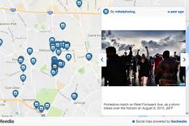 Instagram Map Facebook Twitter And Instagram Surveillance Tool Was Used To