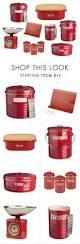 best 25 red kitchen accessories ideas only on pinterest retro