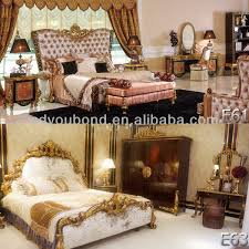 High Quality Royal Wooden Carved Antique Bedroom Furniture - High quality bedroom furniture