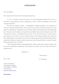 quality control inspector cover letter gallery cover letter sample