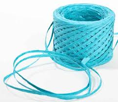 raffia ribbon turquoise paper raffia ribbon ribbon and trims craft supplies