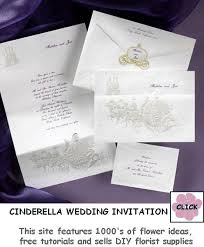 cinderella wedding invitations cinderella wedding invitations