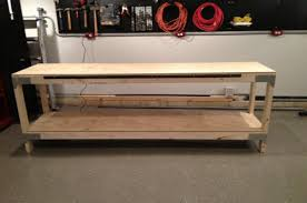 Plans For Making A Wooden Workbench by How To Build A Heavy Duty Workbench One Project Closer