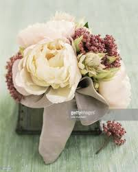 peony floral arrangement stock photo getty images
