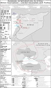 Russia Equipped Six Military Bases by Comprehensive Infographic About The Russian Intervention In Syria