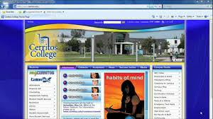Cerritos College Map Video 5 Schedule Using Mycerritos To Enroll Registration