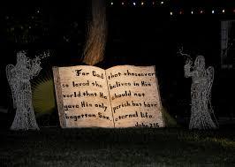 bible verse lawn decoration free stock photo public domain pictures