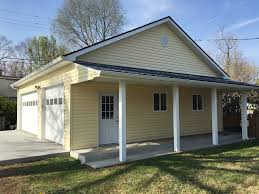 house porch side view a to z garage builders louisville ky