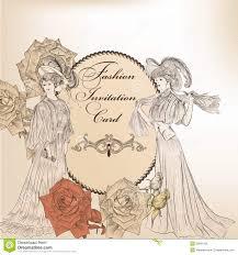 Design Card Wedding Invitation Fashion Or Wedding Invitation Card For Design Royalty Free Stock