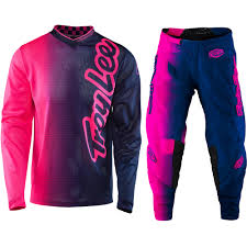 troy lee designs motocross gear troy lee designs new 2017 mx gp air 50 50 flo pink navy tld