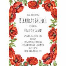 birthday brunch invitation birthday brunch invitations announcements zazzle