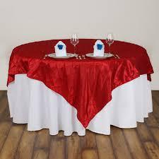 wedding linens wholesale 15 pcs 72x72 square pintuck table overlays wedding linens