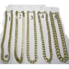 necklace chains styles images Gold chain necklaces flashback and freedom jpg