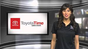 current toyota commercials sales in toyota commercial