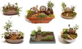 how to create a miniature garden home design garden