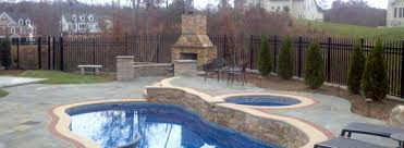 Unique Pool Ideas by Pool With Fireplace Home