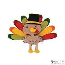 thankful turkey craft kit orientaltrading nursery