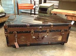 Rustic Chest Coffee Table Rustic Trunk Coffee Table Capsuling Me
