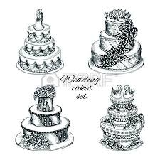 23 834 wedding cake cliparts stock vector and royalty free