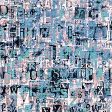 newspaper magazine collage grunge letters background u2014 stock