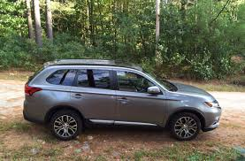 mitsubishi suv 2015 inside review 2016 mitsubishi outlander shows off an improved interior