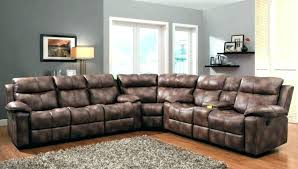Curved Sectional Recliner Sofas Large Sectional With Recliners Chaise Furniture Reclining