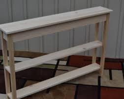 Narrow Sofa Tables Narrow Sofa Table Etsy